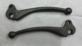Carbon Fibre Effect Disc Model Lever Set
