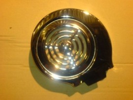 Flywheel Cover Polished Stainless Steel