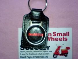 Lambretta Leather Key Ring