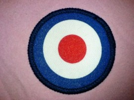 Sew on Target Patch