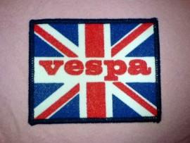 Vespa/Union Jack Sew on Patch