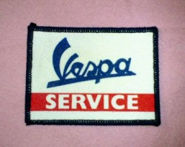 Vespa Service Patch
