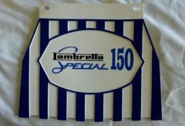 Lambretta Blue 150 Special Mudflap