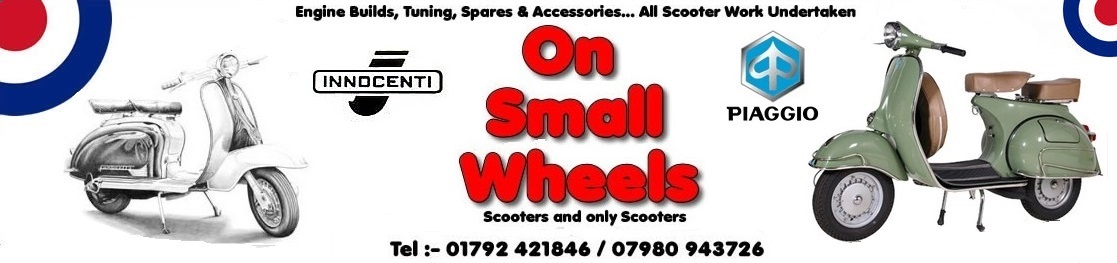 Vespa Auto Parts - On Small Wheels