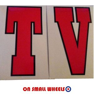 Lambretta TV decal