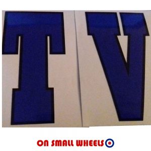 Lambretta Legshield decal