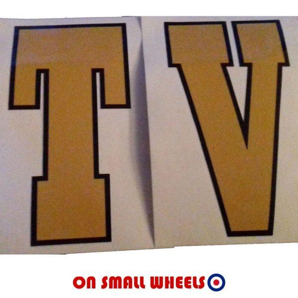 Lambretta Flyshield graphic