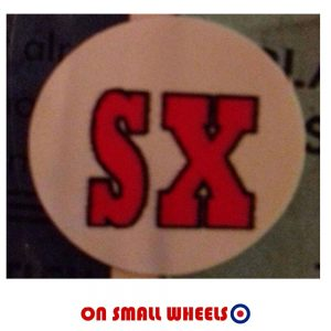 SX Lambretta Sticker
