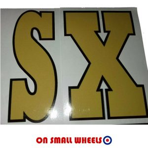Lambretta SX decal