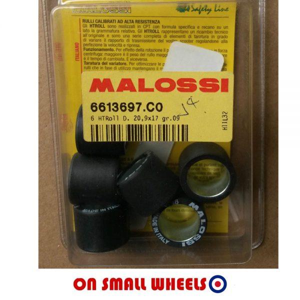 9g Malossi Rollers