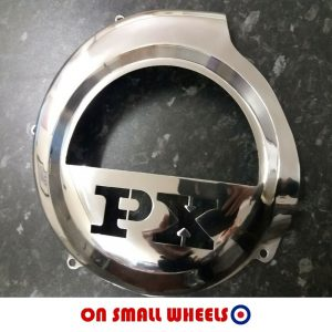 Stainless flywheel cover