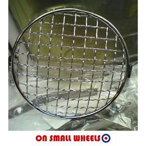 Vespa headlamp grill
