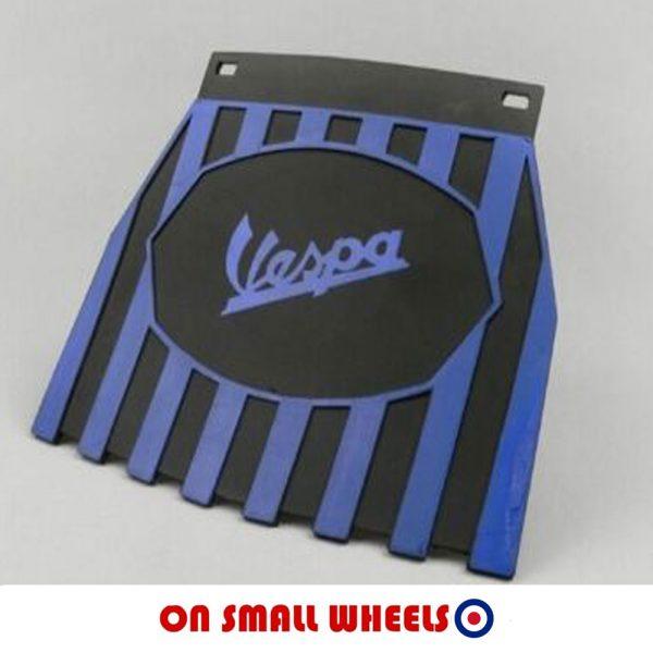 Vespa blue mudflap