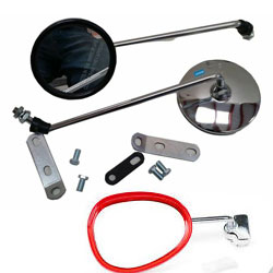 Lambretta Mirrors & Fixings