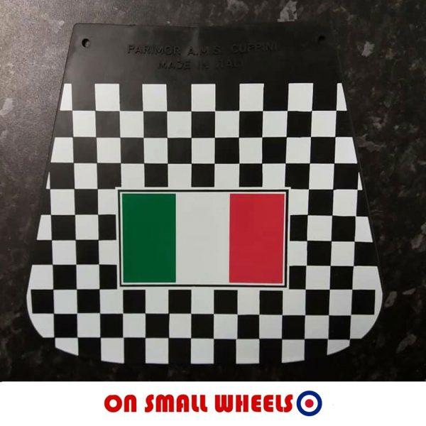 Italian flag mudflap