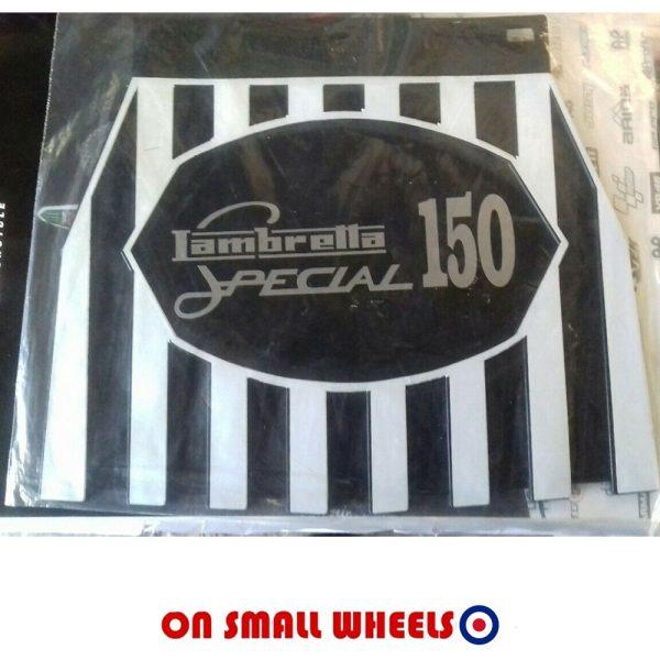 Lambretta 150 special mudflap