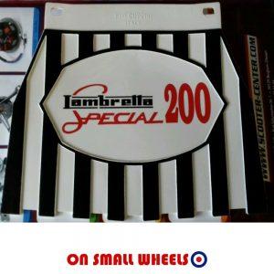 Lambretta 200 Special mudflap