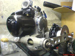 Vespa PX Engine
