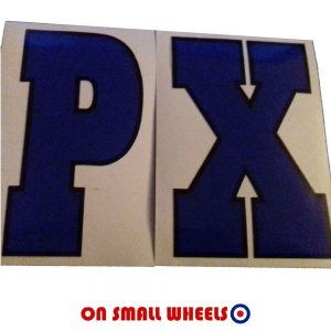 Vespa PX Decal