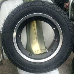 Lambretta Wheels, Rims & Tyres